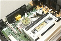 HITACHI 7B-SV500の内部